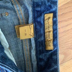 Seven Regular Boot Cut Jeans Size 28